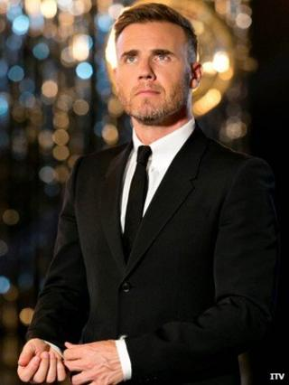 Gary Barlow on X Factor