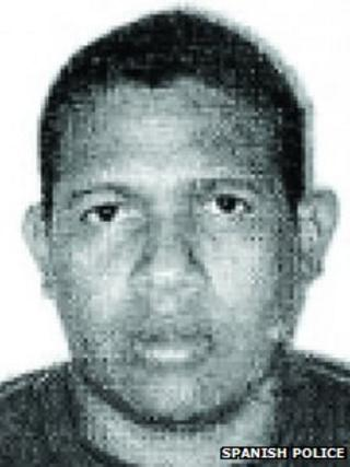 Cipriam Manuel Palencia Gonzalez (Spanish police image)