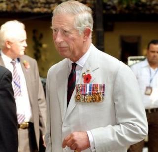 Prince of Wales in Mumbai, India, on 10 November 2013