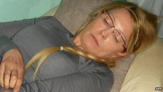 Yulia Tymoshenko in jail, 25 Apr 12