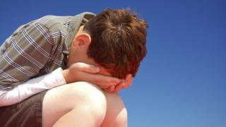 Bullied boy
