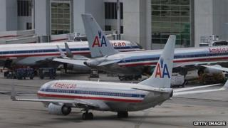 American Airline planes