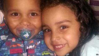 Libya children pic released to PA