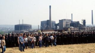 Orgreave coking plant confrontation