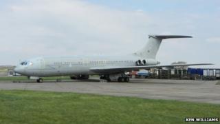The VC10 at Bruntingthorpe