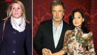 Genevieve Sabourin, Alec Baldwin and his wife Hilaria