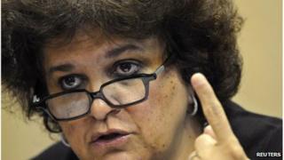 Brazil Environment minister Izabella Teixeira