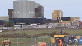 The existing Wylfa plant on Anglesey