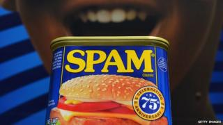 A can of spam