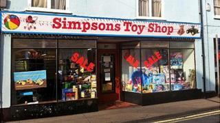 Simpsons Toy Shop, Stowmarket
