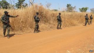 Cameroonian soldiers (15 December 2012)
