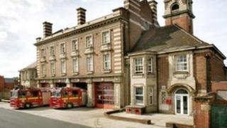 Aston fire station