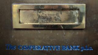 Co-op bank's letterbox