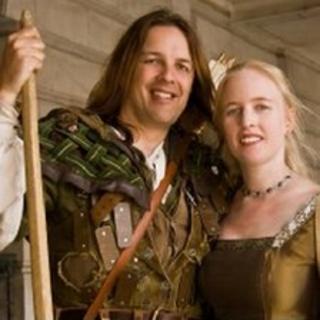 Tim Pollard and Sally Chappell