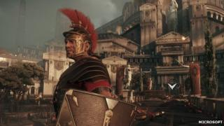 Screenshot from Ryse