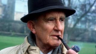 JRR Tolkien, in 1968