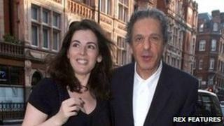 Charles Saatchi and Nigella Lawson at Scotts restaurant in Mayfair, June 2008