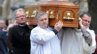 Fr Reid's funeral