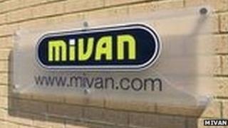 Mivan logo