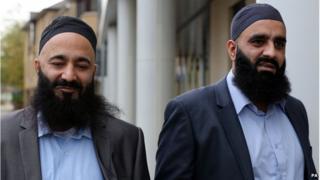Mohammed Safdar (left) and Tayyab Subhani