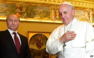 When the Pope met Putin