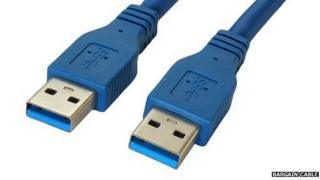 USB 3.0 cable connectors
