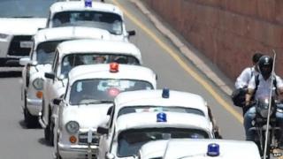 India VIP convoy