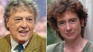 Sir Tom Stoppard and Jeanette Winterson