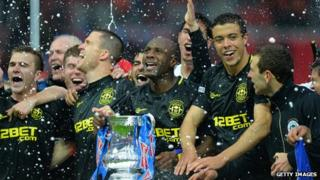 Wigan win the English FA Cup final