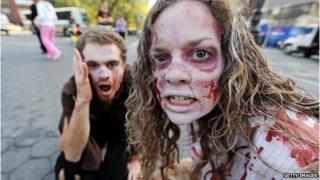 Walking Dead fans in 2010