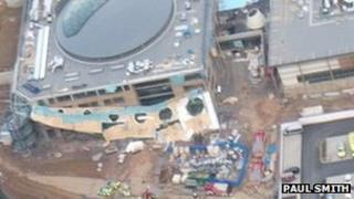 Abraham Academy in Shropshire roof collapse
