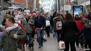 Dublin shoppers