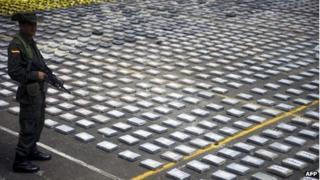 Three tonnes of Urabenos cocaine seized in April 2013
