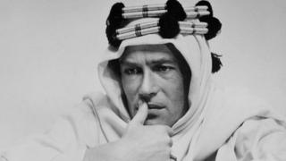 Peter O'Toole as Lawrence of Arabia