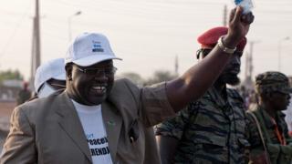 Riek Machar in January 2011