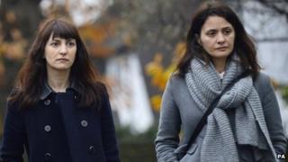 Francesca (left) and Elisabetta Grillo