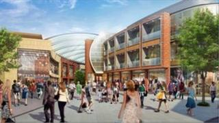 Computer generated image of City Sentral shopping area-image supplied by Halogen UK property PR agency