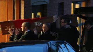 Funeral for Joe Cusker