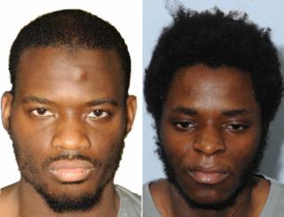 Adebolajo and Adebowale police shots