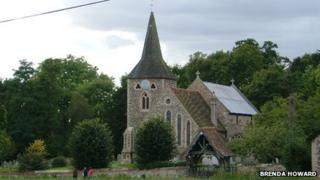 All Saints Church in Stisted