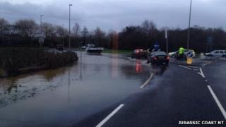 Bakers Arms Roundabout Poole