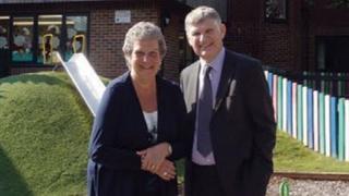 Shirley and David Metherell