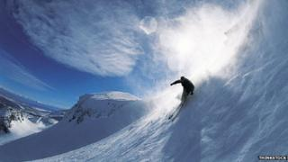 Skiing, generic