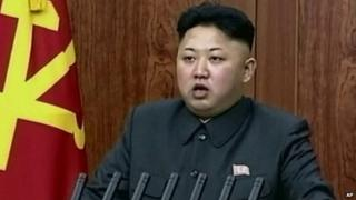 File photo: Kim Jong-un, 1 January 2014
