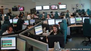 Ambulance call centre