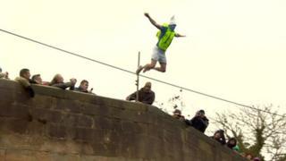 Mapleton Bridge jump
