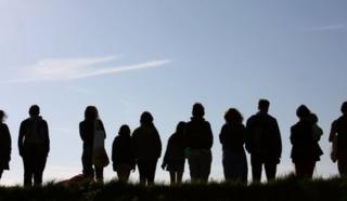 Generic picture: Silhouette of people