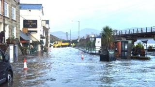 Barmouth flooding