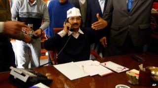 Arvind Kejriwal assumed office of the Chief Minister of Delhi on 28 December 2013
