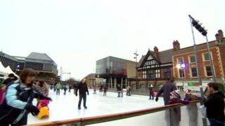 Ice rink in Derby